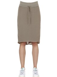 Transit Cotton Blend Jersey Pencil Skirt