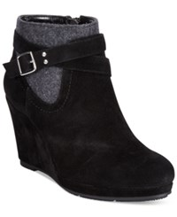 Styleandco. Style And Co. Anetta Platform Wedge Booties Only At Macy's Women's Shoes