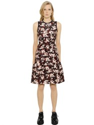 Mother Of Pearl Florence Floral Print Cotton Silk Dress