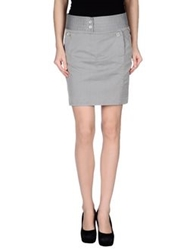 Murphy And Nye Mini Skirts Light Grey