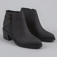 Senso Nessie Ii Boot Ebony Matte Black Zip