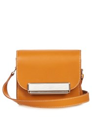 Hillier Bartley Mini Satchel Leather Cross Body Bag Tan