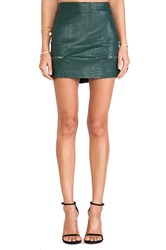 Lovers Friends Good To Be Bad Mini Skirt Green