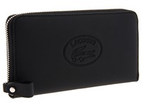 Lacoste New Classic Large Zip Wallet Black 1 Wallet Handbags