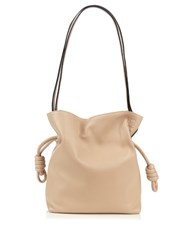 Loewe Flamenco Knot Small Leather Bag Light Beige
