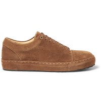 Wooyoungmi Suede Sneakers Camel