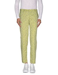 Versace Jeans Trousers Casual Trousers Men Acid Green