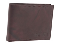 Kenneth Cole Reaction Pass The Buck Passcase Wallet Brown Bill Fold Wallet
