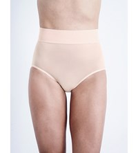Wolford Sheer Touch High Rise Control Briefs Rosepowder