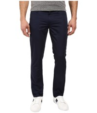 Kenneth Cole Sateen Five Pocket Pants Indigo Men's Casual Pants Blue