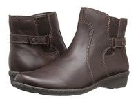 Naturalizer Rylen Oxford Brown Leather Women's Boots