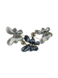 Indulgence Jewellery Blue Triple Butterfly Brooch