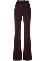 Plein Sud Jeans Straight Leg Trousers Red