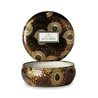 Voluspa Japonica Limited Edition 3 Wick Candle In Tin Baltic Amber