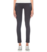 Replay Luz Skinny Mid Rise Jeans Grey