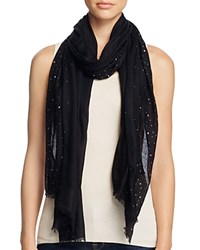 Fraas Sparkle Scarf Black