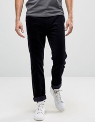 Weekday Rain Cord Trouser Regular Straight Fit 73 301 Navy