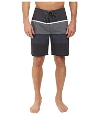 Rip Curl Rapture Stripe Boardshorts Black 1 Men's Swimwear