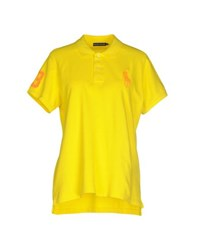 Ralph Lauren Topwear Polo Shirts Women Yellow