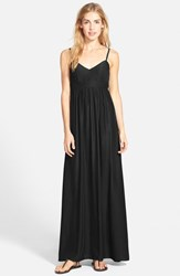 Women's Felicity And Coco Empire Waist Maxi Dress Black