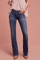 Anthropologie Citizens Of Humanity Emannuelle Low Rise Flare Jeans Denim Dark