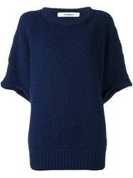 Chalayan Loose Pullover Blue