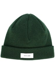 Soulland 'Villy' Knitted Beanie Green