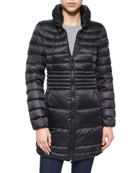 Peuterey Quilted Slim Long Jacket