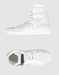 Rock And Republic High Top Sneakers White