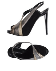Diego Dolcini Pumps With Open Toe Black