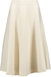 Marni Wool Midi Skirt Cream