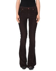 People Trousers Casual Trousers Women Maroon