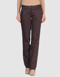 Toton Comella Tcn Casual Pants Dark Purple