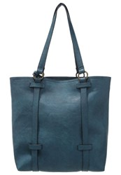Anna Field Tote Bag Dark Turquoise