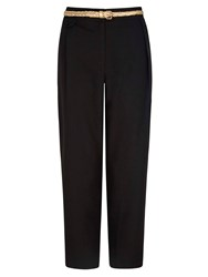 Yumi Causal Trousers With Belt Black