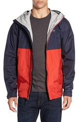 Patagonia Men's 'Torrentshell' Packable Rain Jacket Navy Blue Ramble Red