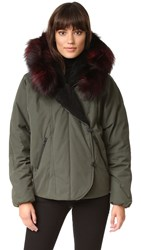 Soia And Kyo Madelyn Parka With Fur Moss
