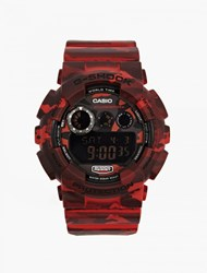 Casio Red Camouflage Gd 120Cm 4Er Watch