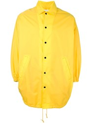 Ganryu Comme Des Garcons Poncho Jacket Yellow And Orange