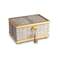 L'objet Fortuny Gold Tapa Box Small