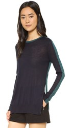 Rag And Bone Verity Cashmere Pullover Teal