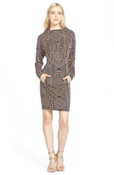 Plenty By Tracy Reese Geo Print Shift Dress Geometric