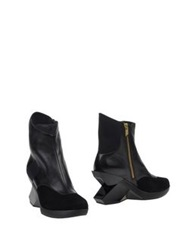 Y 3 Ankle Boots Black