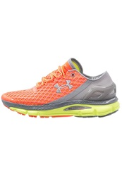 Under Armour Speedform Gemini Cushioned Running Shoes After Burn Orange
