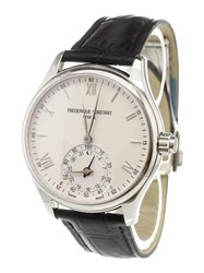 Frederique Constant 'Horological' Smart Analog Watch Stainless Steel