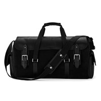 Aspinal Of London Men's Harrison Overnight Business Bag Black