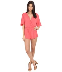Clayton Karmina Playsuit Coral Women's Jumpsuit And Rompers One Piece