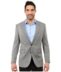 Dockers Battery Street Sport Coat Grey Hbone Men's Jacket Gray
