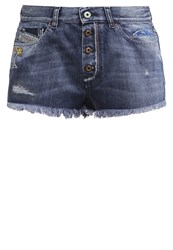 Diesel Degeri Shorts Denim Shorts 0851R Blue Denim