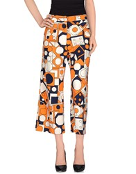 Jucca Trousers Casual Trousers Women Orange